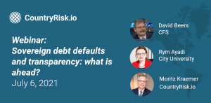 EMEA participation in webinar for sovereign defaults and debt transparency